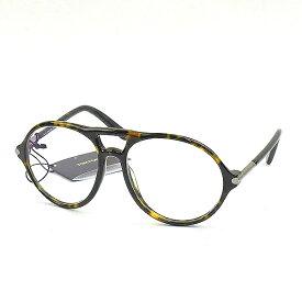【中古】TOM FORD トムフォード TF5290 56F 55□16-140 ティアドロップ型アイウェア メガネ ブラウン 55□16-140