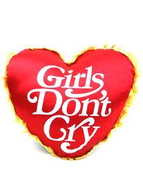 【中古】Girls Don't Cry×HUMAN MADE ガールズドントクライ×ヒューマンメイド HEART CUSHION ハートクッション レッド×ブラック