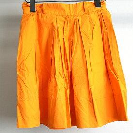 Karen walker カレン ウォーカー ブロードスカート オレンジ US2(S相当)【中古】