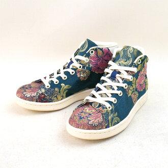c9cec8ff1efa MODESCAPE Rakuten Ichiba Shop  ADIDAS BY PHARRELL WILLIAMS Adidas by  Farrell Williams Stan Smith Mid Jacquard Stan Smith jacquard sneakers navy  22.5cm ...