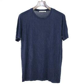 【中古】Acne Studios アクネストゥディオズ VISTA クルーネックTシャツ ネイビー S レディース