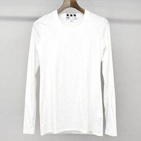 【中古】Y-3 ワイスリー 12SS ニットコンビロングスリーブTシャツ ホワイト XS レディース