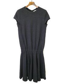 【中古】beautiful people ビューティフルピープル sponge rever dress ワンピース ブラック 38 レディース