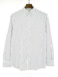CELINE Celine 19SS palace color classical music poplin shirt white 44 Lady's