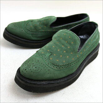 mythography misography wingtipswerdslippon green 42 (27 cm)