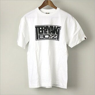 A BATHING APE a bathing ape TERIYAKI BOYZ print t-shirt White M