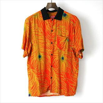 Supreme Supreme 16 SS Peacock Shirt Orange size: M