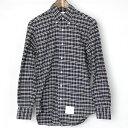 5f4077e542 Shop MODESCAPE Rakuten Ichiba Shop · 1249998009281 1. THOM BROWNE Tom Browne  checked pattern button-down shirt charcoal 1