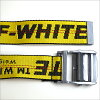 OFF-WHITE off-white 16AW TIE DOWN INDUSTRIAL BELT Thailand down industrial belt yellow