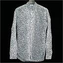 SAINT LAURENT PARIS サンローラン パリ 13SS ベイビーキャットシャツ ホワイト 37【中古】