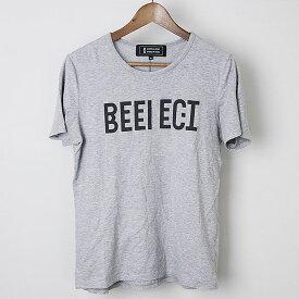 ANREALAGE アンリアレイジ Mirror Reflect Tシャツ グレー 46【中古】