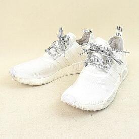 119beb057  中古 adidas アディダス NMD R1 Reflective White 3M スニーカー スポーツ メンズ ホワイト 27.5cm