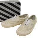 ffb2257b860822 Wtaps double taps X VANS 16AW OG LX ERA VAULT python type push sneakers men  ivory 8 (around 26cm)