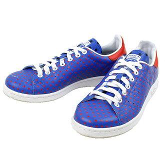 30db7d01dad4c MODESCAPE Rakuten Ichiba Shop  adidas Adidas x Pharrell Williams PW STAN  SMITH SPD dot print sneakers men blue 27cm