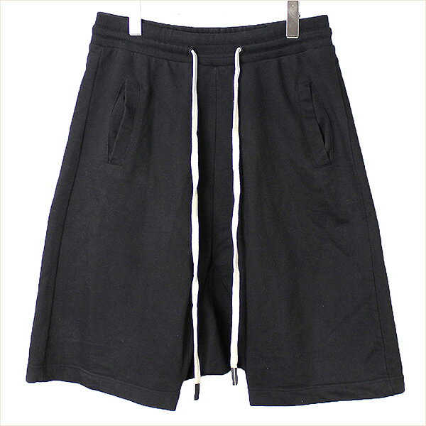 【中古】Other UK アザーユーケー スウェットサルエルショートパンツ メンズ ブラック L