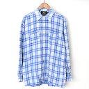 8cdd5da81807a RRL double are L 90's three star cotton flannelette check shirt men blue S.  Used - Good. Shop MODESCAPE Rakuten Ichiba Shop
