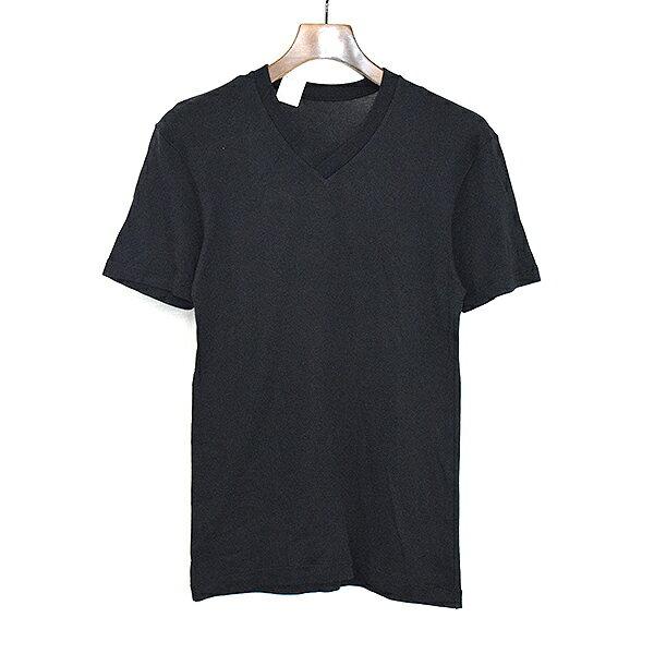 【中古】N.HOOLYWOOD エヌハリウッド VネックTシャツ メンズ ブラック 38