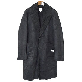 【中古】BEDWIN ベドウィン 16AW SUEDE MOUNTN COAT HOLMAN コート メンズ ブラック 2