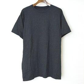 【中古】DRESSEDUNDRESSED ドレスドアンドレスド 18SS ブラバックパネルプリントTシャツ メンズ ブラック 2