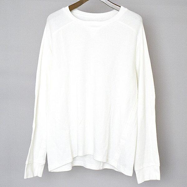 【中古】TAKAHIRO MIYASHITA The SoloIst. タカヒロミヤシタ ザ ソロイスト 17SS underwear shirt 長袖カットソー メンズ ホワイト