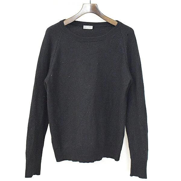 【中古】Dior HOMME ディオールオム カシミアニットセーター メンズ ブラック L