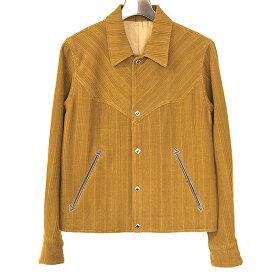 【中古】The Letters ザ レターズ 18AW Western Short Jacket コーデュロイショートウエスタンジャケット メンズ ブラウン S