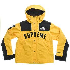 【中古】Supreme×The North Face シュプリーム×ザ ノース フェイス 19SS Arc Mountain Jacket マウンテンパーカー メンズ イエロー S