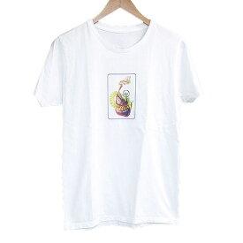fragment design フラグメントデザイン ×AMKK&S.U.C.C. FLOWER HUDDLE 会場限定Tシャツ ホワイト S【中古】