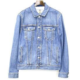【中古】GIVENCHY ジバンシィ バックスターデザインデニムジャケット インディゴ L メンズ