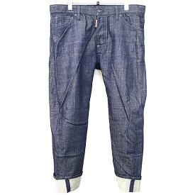 【中古】DSQUARED2 ディースクエアード 14AW Work Wear デニムパンツ インディゴ 50 メンズ