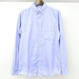 【中古】Carhartt×FRAGMENT カーハート×フラグメント ボタンダウンシャツ サックスブルー M メンズ