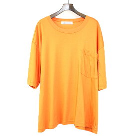 【中古】ANSEASON ANREALAGE アンシーズン アンリアレイジ RANDOM SLEEVE ビックTシャツ オレンジ F メンズ