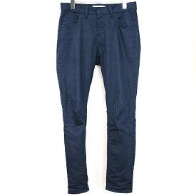 【中古】DIET BUTCHER SLIM SKIN ダイエットブッチャー スリムスキン 19SS LOOSE FIT CHINO CLOTH PANTS ストレッチチノパンツ ネイビー 2 メンズ