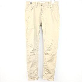 【中古】DIET BUTCHER SLIM SKIN ダイエットブッチャー スリムスキン 19SS LOOSE FIT CHINO CLOTH PANTS ストレッチチノパンツ ベージュ 2 メンズ