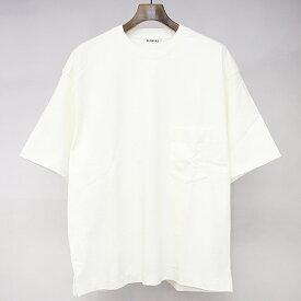 【中古】AURALEE オーラリー 19SS STAND-UP TEE スタンドアップTシャツ アイボリー 5 メンズ