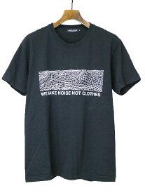 【中古】UNDER COVER アンダーカバー 18SS WE MAKE NOISE NOT CLOTHES グラフィックプリントTシャツ ブラック L メンズ