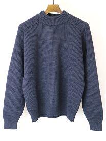 【中古】Maison Martin Margiela14 メゾン マルタン マルジェラ14 13AW REPLICA Box Sweater ボックスニットセーター ネイビー S メンズ