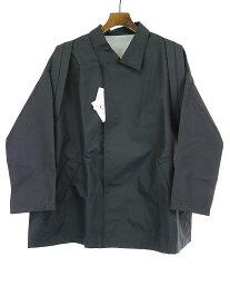 【中古】STOF ストフ 17AW バックパックコート ブラック S メンズ
