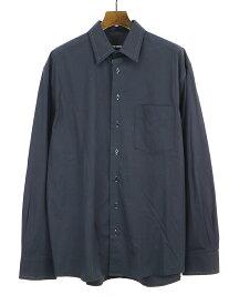 【中古】RAF SIMONS ラフシモンズ 16AW オーバーサイズステッチシャツ ネイビー 46 メンズ