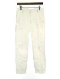 【中古】JIL SANDER ジルサンダー 13SS コットントラウザーパンツ ホワイト 44 メンズ