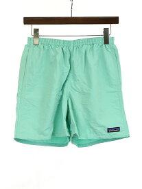 【中古】Patagonia パタゴニア 19SS Baggies Shorts ショートパンツ グリーン XS メンズ