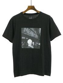 【中古】Ron Herman ロンハーマン 19SS Alexei Hay フォトプリントTシャツ ブラック S メンズ