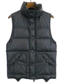 【中古】Dior HOMME ディオールオム 06AW ダウンベスト ブラック 44 メンズ