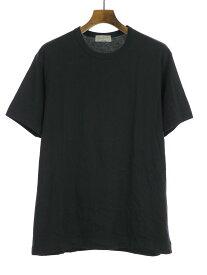 【中古】Yohji Yamamoto POUR HOMME ヨウジヤマモト プールオム 15AW クルーネックTシャツ ブラック 3 メンズ
