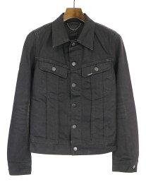 【中古】GalaabenD ガラアーベント 09AW デニムジャケット ブラック S メンズ