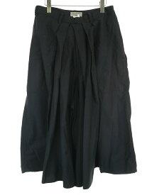 【中古】Yohji Yamamoto POUR HOMME ヨウジヤマモト プールオム 18SS コットン袴パンツ ブラック 2 メンズ