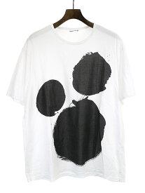 【中古】LAD MUSICIAN ラッドミュージシャン 17SS プリントビッグTシャツ ホワイト 42 メンズ