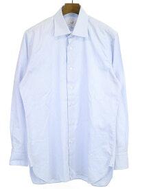 【中古】dunhill ダンヒル TAILORED FIT ビジネスシャツ ブルー 41 メンズ
