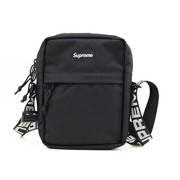 【中古】Supreme シュプリーム 18SS Shoulder bag WEEK1 ショルダーバッグ ブラック