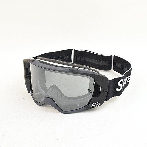 【中古】Supreme シュプリーム 18SS ×Fox Racing VUE Goggles ゴーグル ブラック